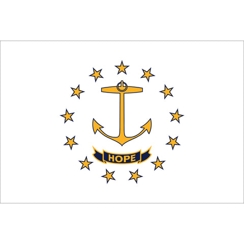 Rhode Island State Flag Outdoor Nylon
