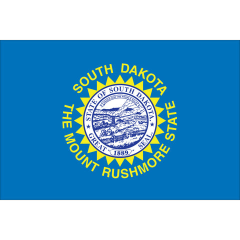 South Dakota State Flag Outdoor Nylon