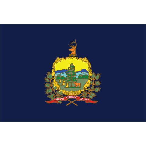 Vermont State Flag Outdoor Nylon