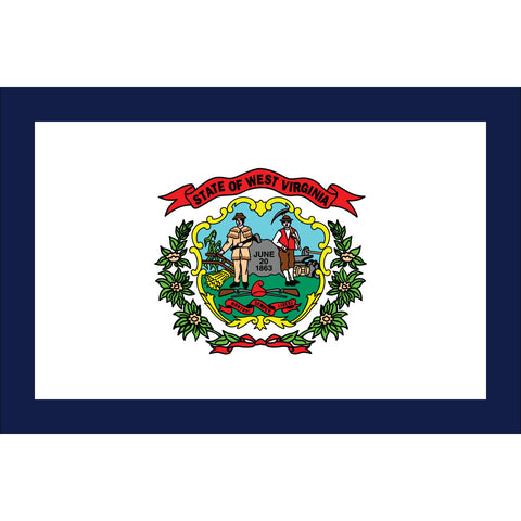 West Virginia State Flag Outdoor Nylon