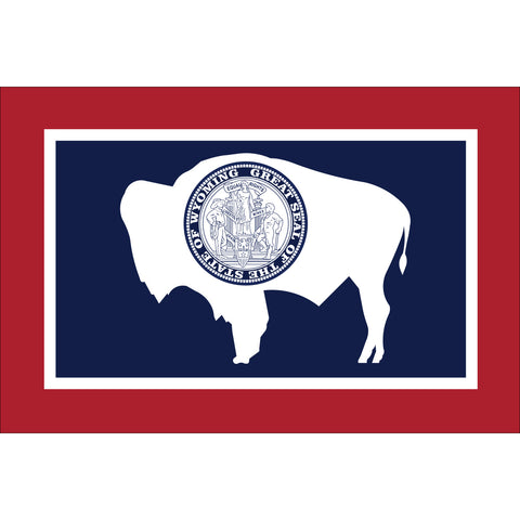 Wyoming State Flag Outdoor Nylon