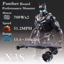 Load image into Gallery viewer, 38 inches  Electric Skateboard PantherX3S