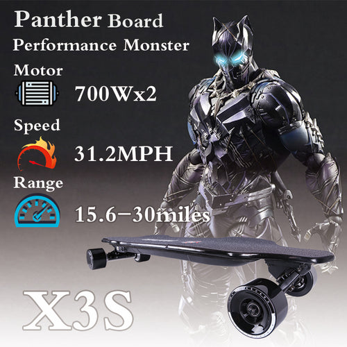 38 inches  Electric Skateboard PantherX3S