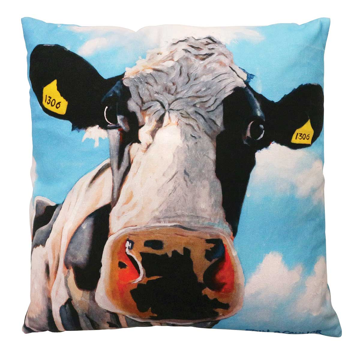 Tinahely Girl 45cm x 45cm Luxury cushion