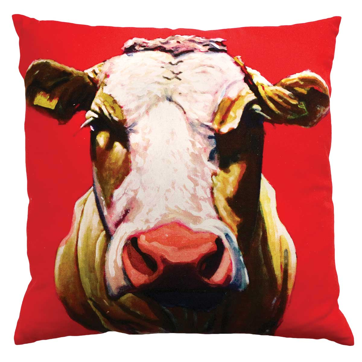 Pull the udder one 45cm x 45cm Luxury cushion