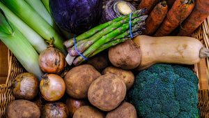 The Mart Farmshop East Lothian Large Weekly Veg Box