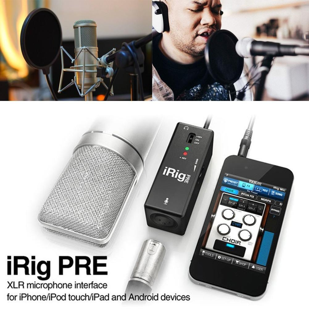 IRig Pre Microphone Preamp For Smartphones And Tablets