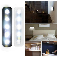 Mini Wireless Night Light 5-LED Cabinets