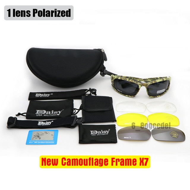 Polarized Sunglasses X7 Tactical
