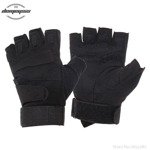 Assault Tactical Half-finger, Fingerless Gloves