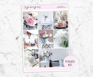 Foil Planner Stickers Full Kit - Farmhouse