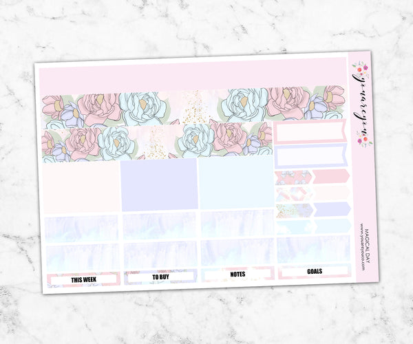 Foil Planner Stickers Full Kit - Magical Day