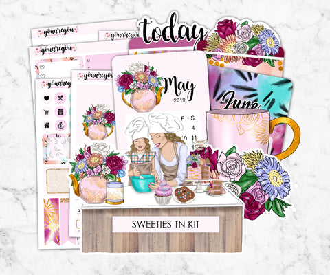 TN planner stickers full kit - Sweeties