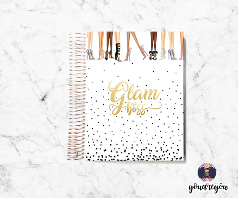 Foiled Glam Boss Planner Cover