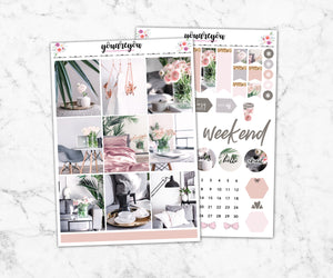 Superb My Space Planner Stickers Full Kit Vertical