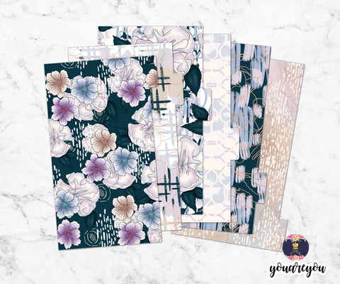 Pastel Powder Planner Dividers for ring bound planner