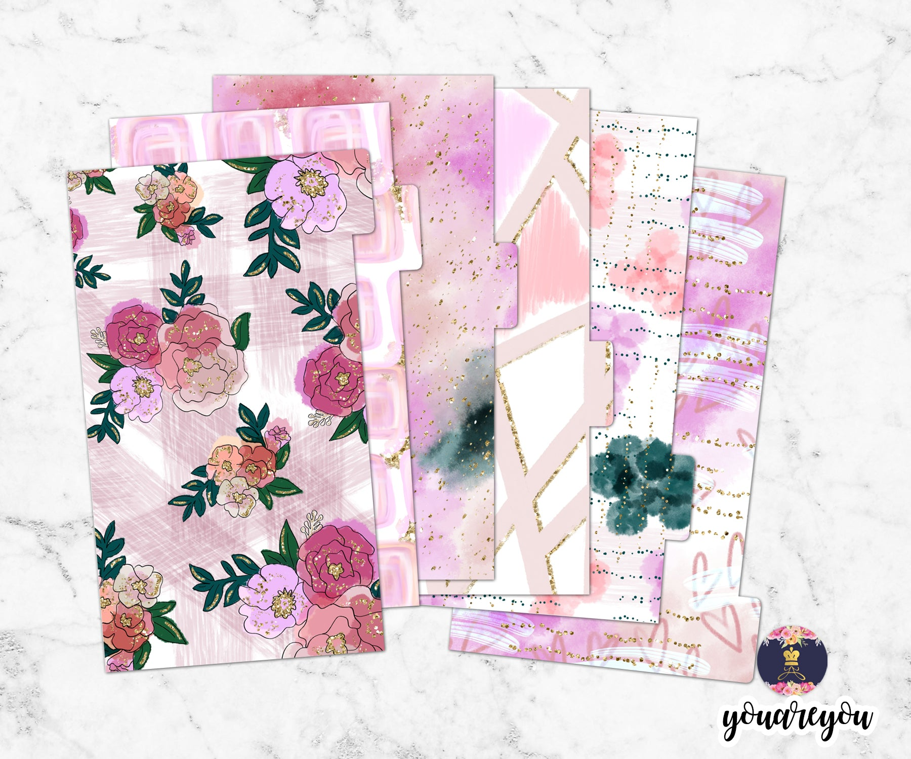 Stay in Love Planner Dividers for ring bound planner