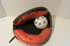 sports, catchers mitt, display,man cave, rawlings, FREE S&H