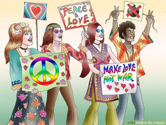 hippies ruled the world