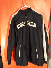 Special,sports Coors Field Wind Breaker / Raincoat sports game stadium jacket, FREE S&H