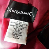 Hot,sexy Morgan & Co. Prom / formal full length dress. Unique rare Black , red FREE S&H - VegasheatX