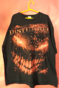 T shirt, Disturbed,Heavy Metal band XL, Black Tee shirt, FREE S&H A11 - VegasheatX