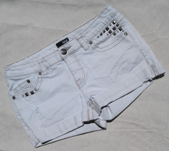Special, jeans, sexy  Hot pants, white  super short sz.27