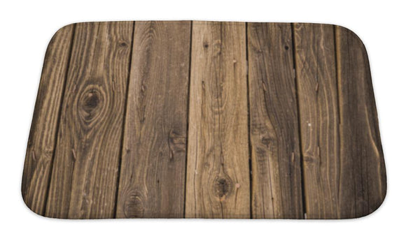 Bath Mat, Wood Pattern - VegasheatX