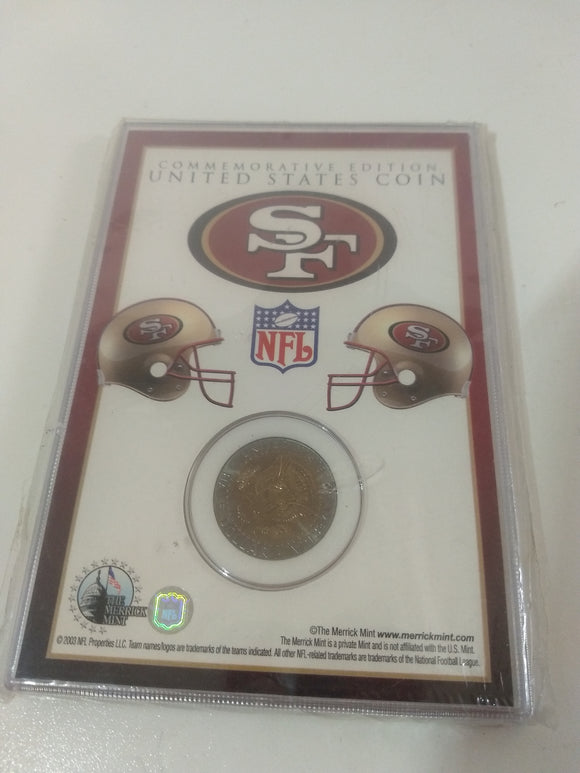 Special, vintage collectable San Francisco 49ers football coin