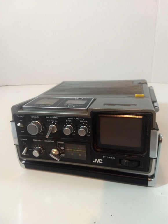Special, vintage collectable portable 1980s TV,