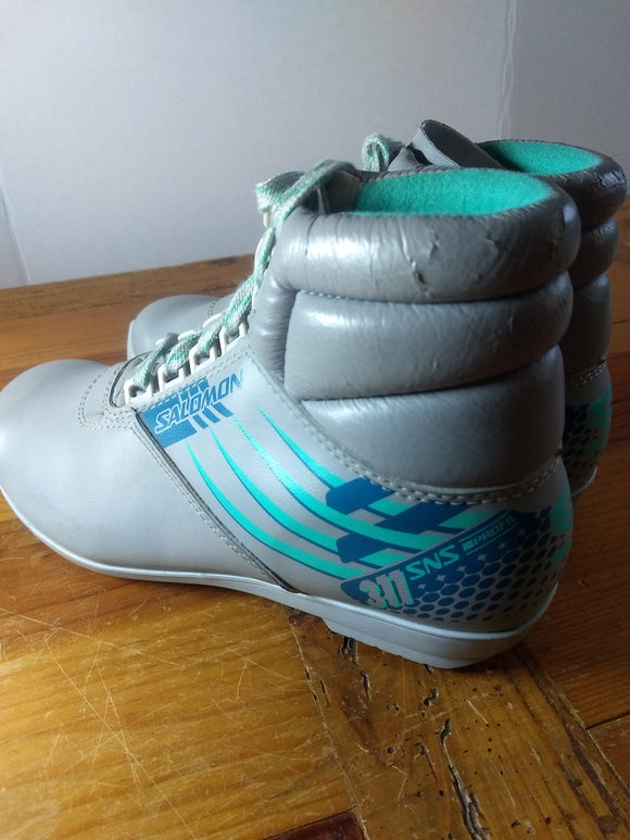 Special, sports vintage Solomon cross country ski boots, sz.
