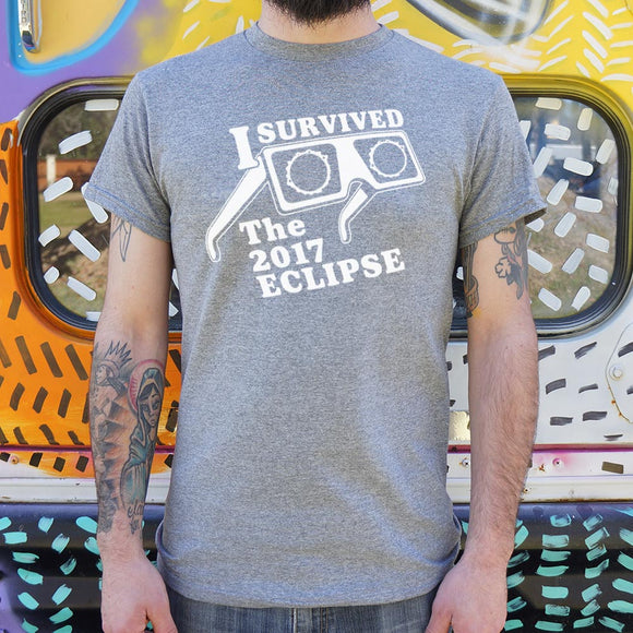 I Survived The Eclipse 2017 T-Shirt (Mens) - VegasheatX
