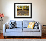Framed Print, Autumn In Central Park New York - VegasheatX