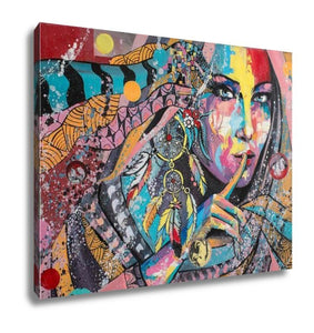 Gallery Wrapped Canvas, Dream Catcher - VegasheatX