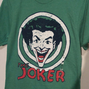 T Shirt, DC The Joker, batman, green t shirt small tee.FREE S&H A11 - VegasheatX
