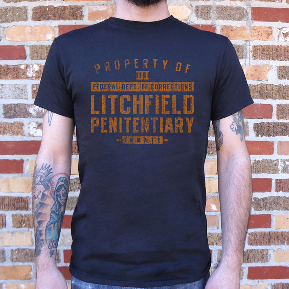 Property Of Litchfield Penitentiary T-Shirt T-Shirt (Mens) - VegasheatX