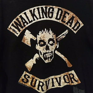 T shirt, walking Dead, 2XL, black Tee FREE S&H A11 - VegasheatX