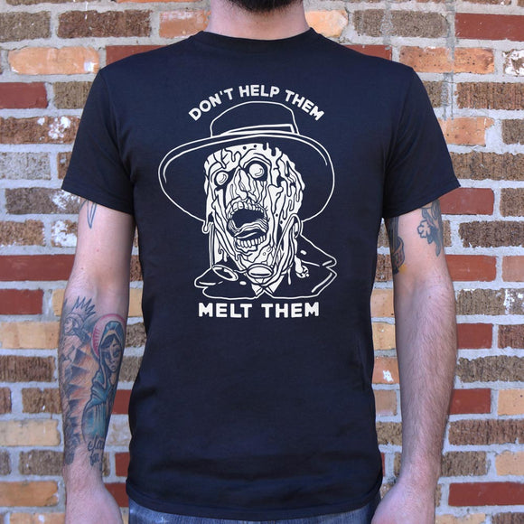 Don't Help Them Melt Them T-Shirt (Mens) - VegasheatX