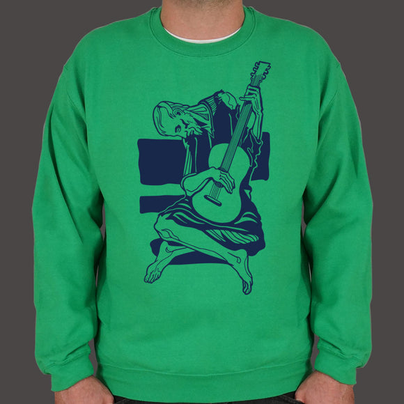 Old Guitarist Sweater (Mens) - VegasheatX
