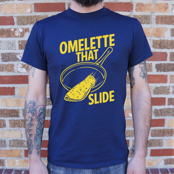 Omelette That Slide T-Shirt (Mens) - VegasheatX
