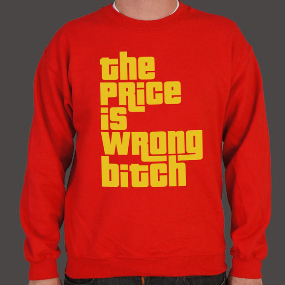 The Price Is Wrong Sweater (Mens)