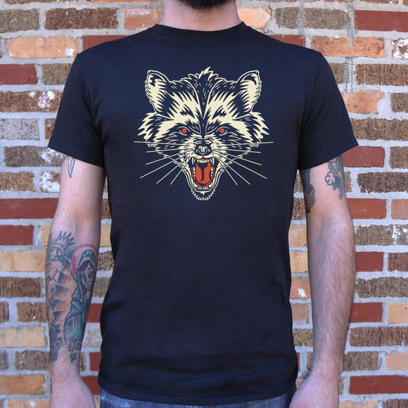 Raccoon Rage T-Shirt (Mens) - VegasheatX