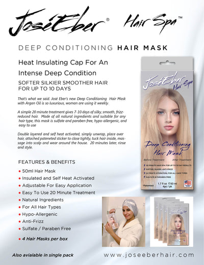 Deep Conditioning Hair Mask 4-pc