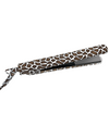 "100% Ceramic 1.25"" Flat Iron with Printed Cord, Giraffe - UK/EU Plug"