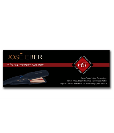*NEW* José Eber HST Infrared Wet/Dry Flat Iron