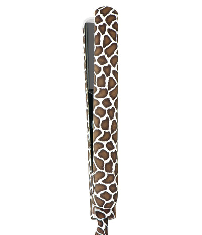"100% Ceramic 1.25"" Flat Iron with Printed Cord, Giraffe - UK/EU Plug - Amazon"