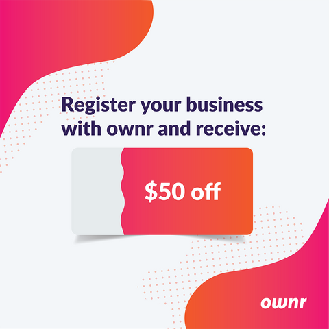 Sign up for Ownr
