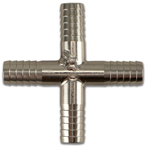 Barbed Cross - 6mm