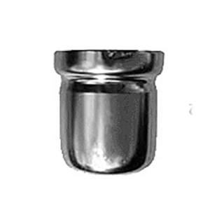 Washout (Bypass) Cup - D & S Type - Stainless