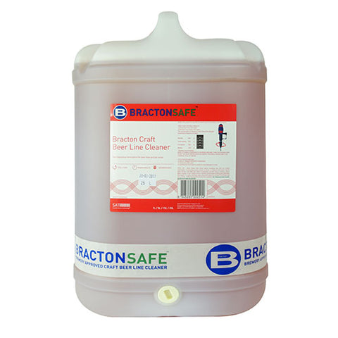 Beer Line Cleaner - Bracton Craft - 3 x 5L Bottles